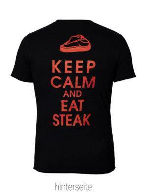Keep Calm Eat Steak Shirt