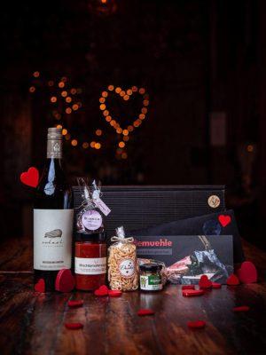 Valentinstags Geschenkpaket