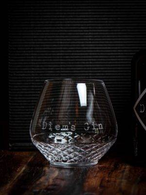 Diems Gin Glas