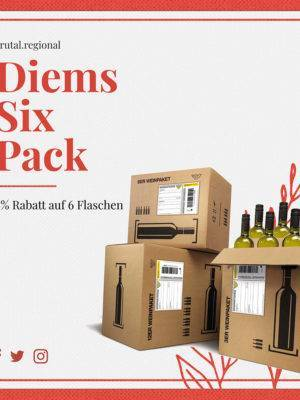 Diems Sixpack Weinpaket