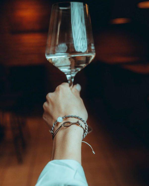 Eydl Armband Weinglas
